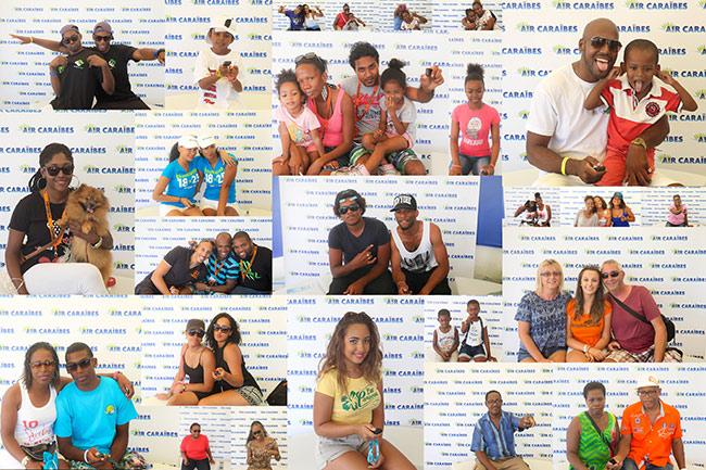 Concours selfie - Air Caraïbes à la Karujet