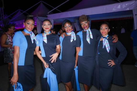 Nouveaux uniformes personnel Air Caraïbes