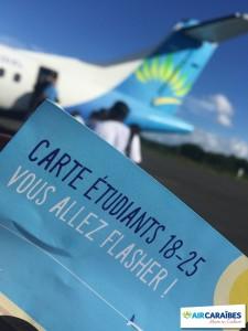 Flyer_Carte_Etudiants_Avion_Air_Caraibes_Successful_Departure
