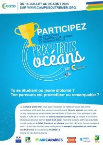Affiche Prix des Trois Oceans