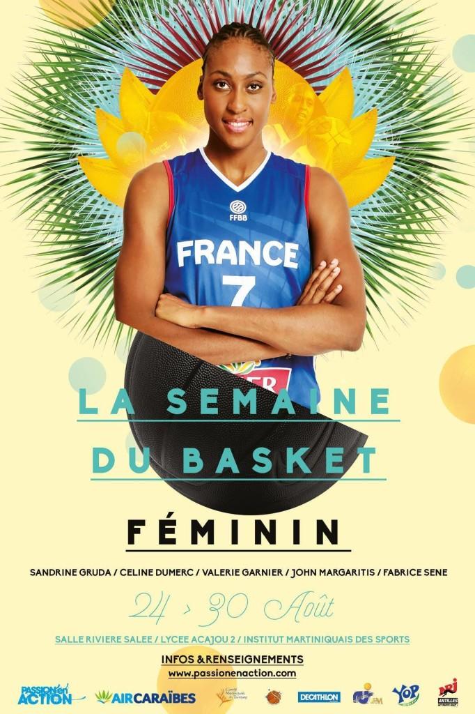 Visuel de la Semaine du Basket Féminin