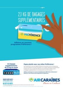 Emportez des bagages supplémentaires avec le Programme de Fidélité Préférence