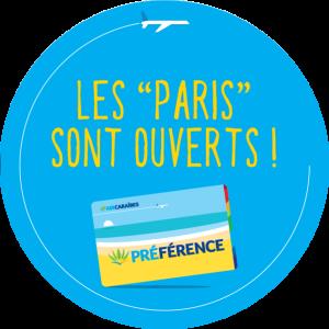 Stickers Les Paris sont ouverts