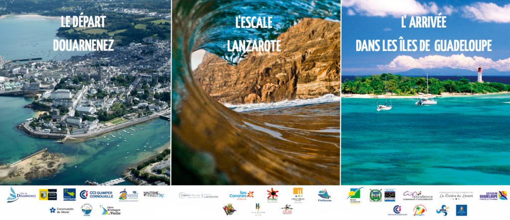 Villes étapes de la Mini Transat Îles de Guadeloupe 2015