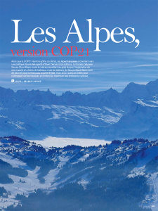 Les Alpes version COP21