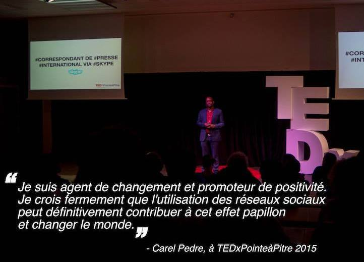 Carel Pedre - TEDxPTP
