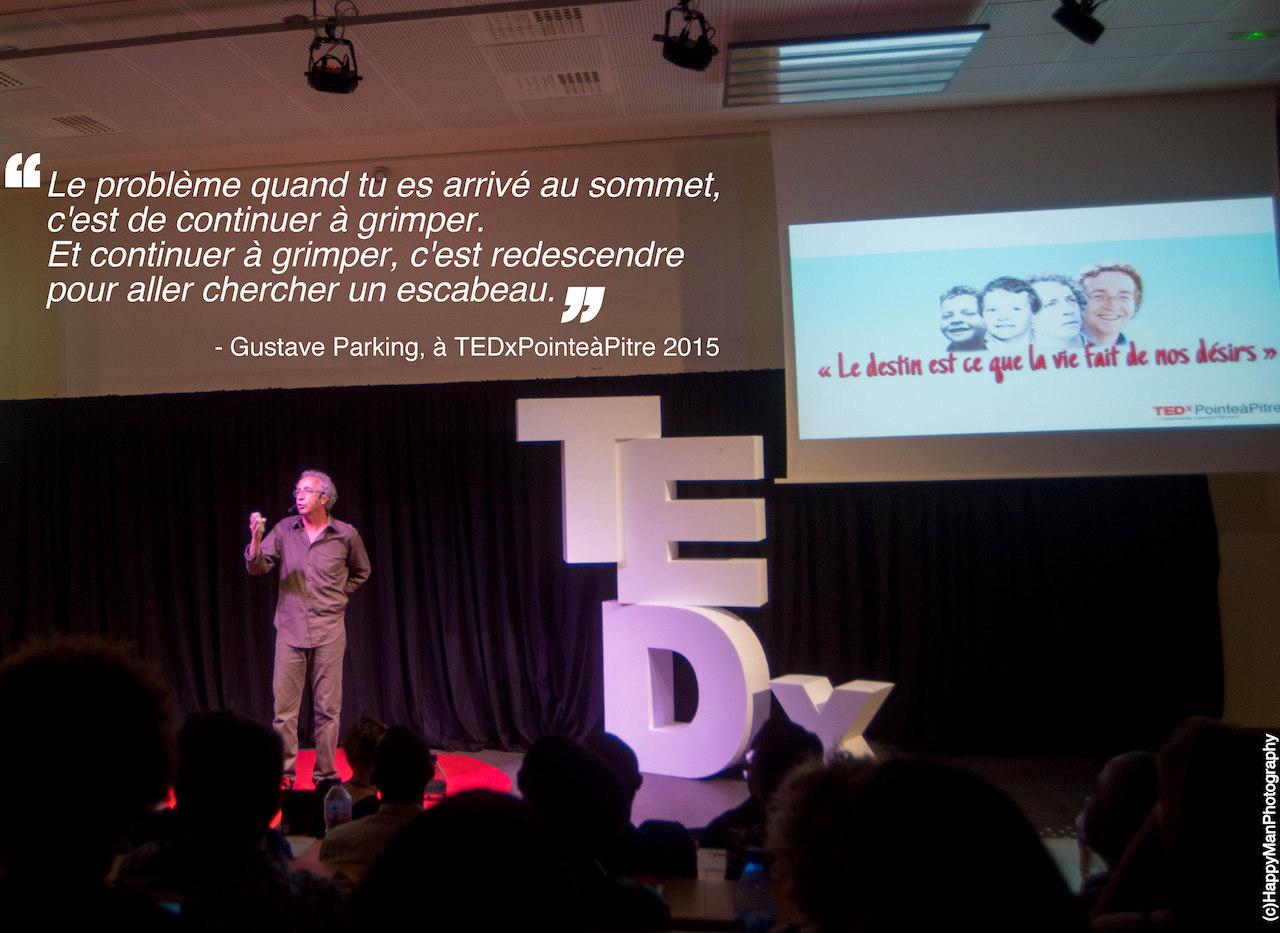 Gustave Parking - TEDxPTP