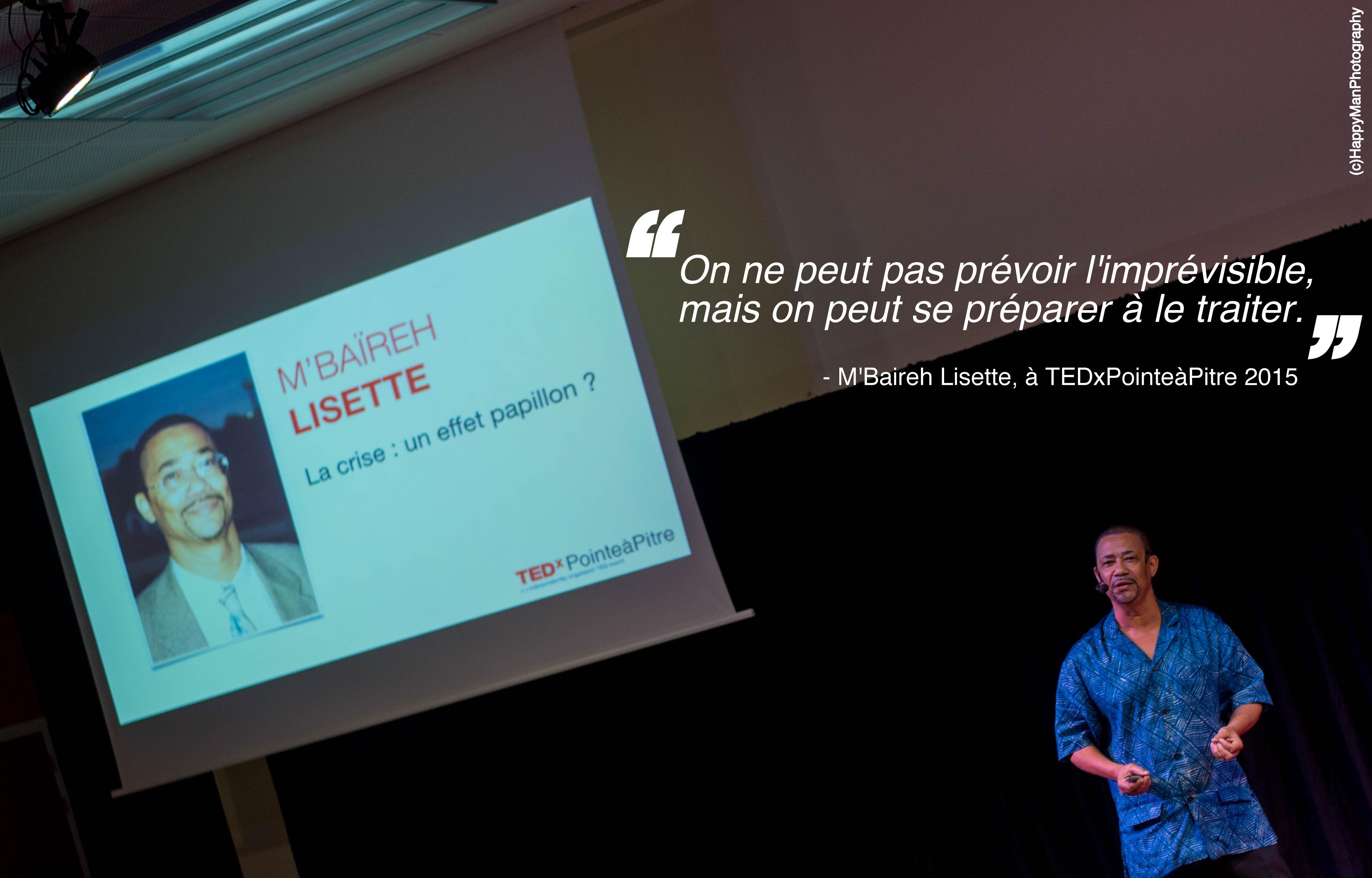 M'Baireh Lisette - TEDxPTP