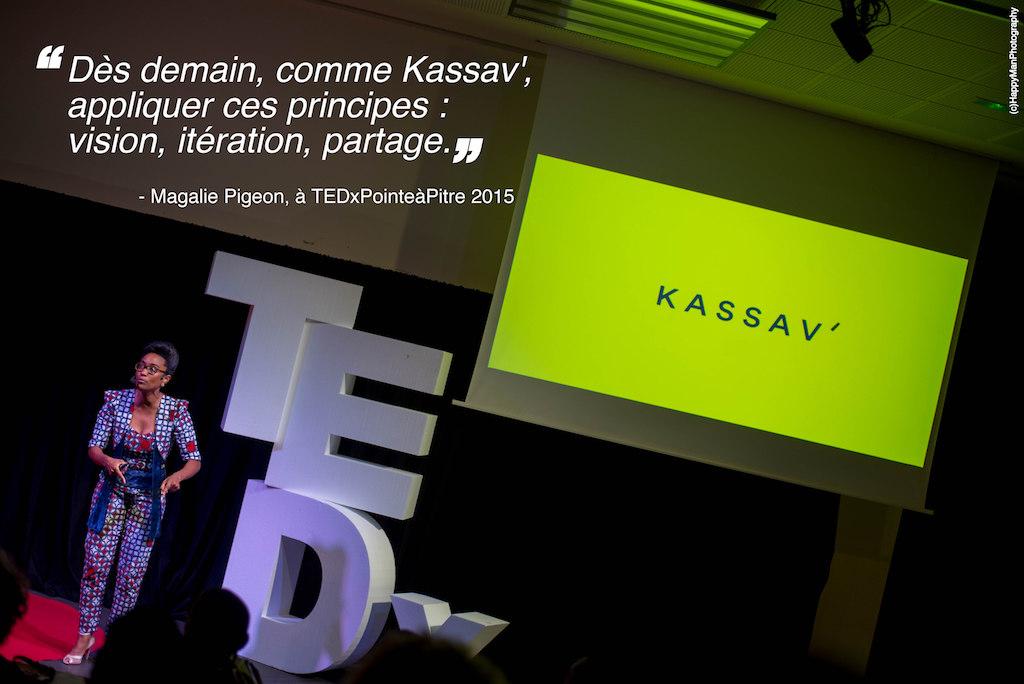 Magalie Pigeon - TEDxPTP