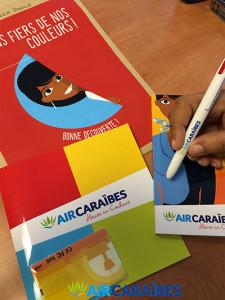 Les employés découvrent la nouvelle image d'Air Caraïbes