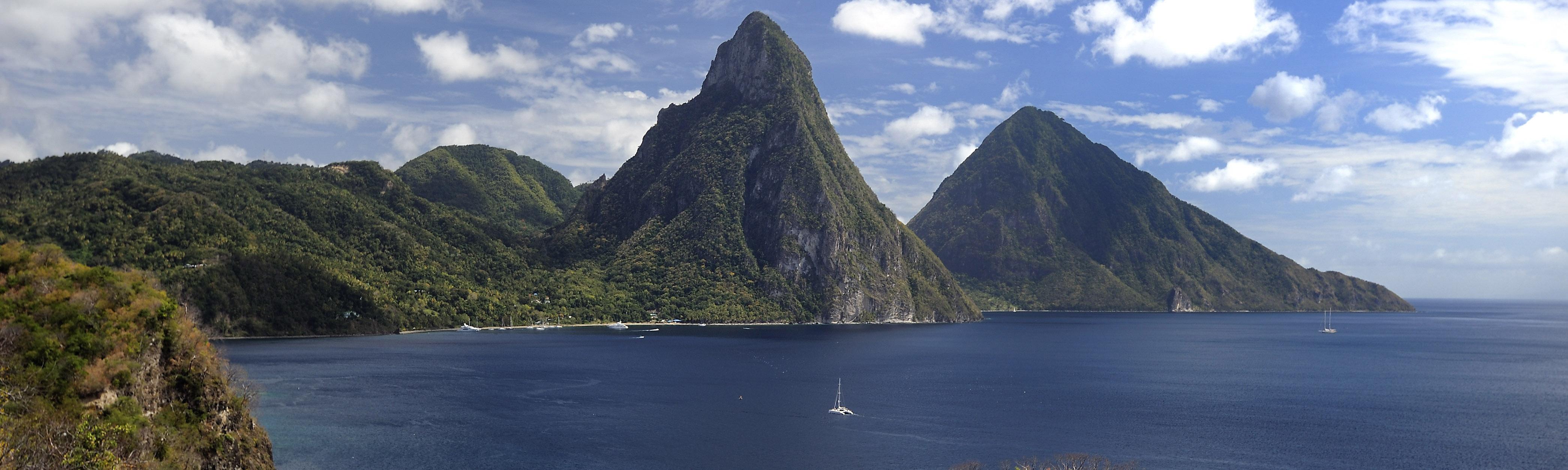Sainte Lucie : L'autre Soufrière