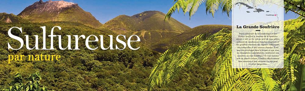 Visuel Guadeloupe Sulfureuse par Nature Soufriere