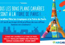 Foire de Paris 2018 air caraibes