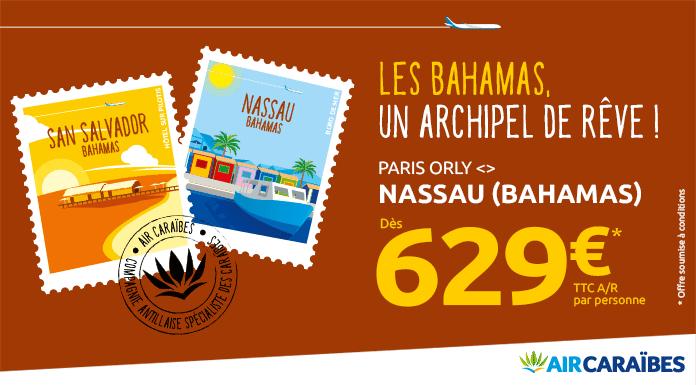 Bahamas nouvelle destination Air Caraïbes