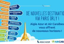 Code share Air Caraïbes-Aigle Azur pour plus de destinations