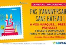 gâteau d'anniversaire, 15 ans transatlantique