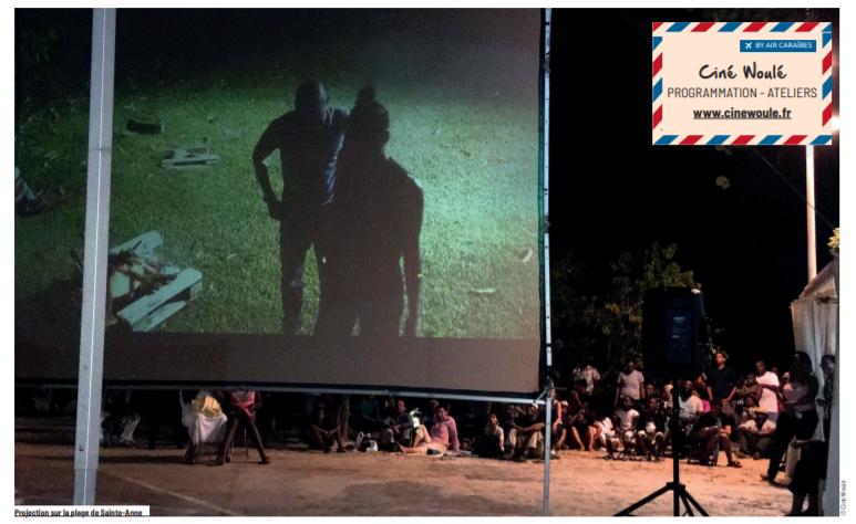 projection cinéma plein air guadeloupe