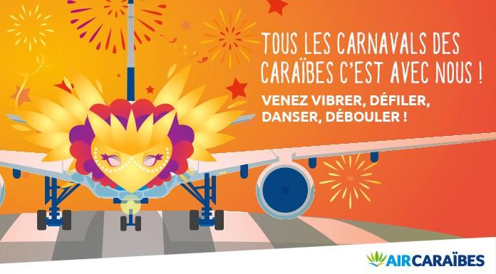 carnaval des Caraïbes avec Air Caraïbes