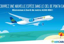Paris Orly Punta Cana en A350-900