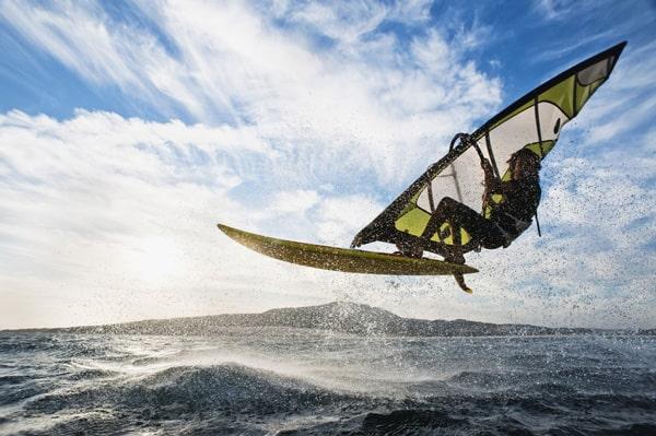 Planche à voile en Martinique