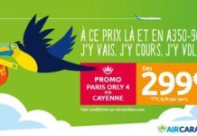 Voyager entre Paris et Cayenne