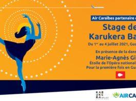 Visuel du stage de danse classique de Karukéra Ballet avec Air Caraïbes